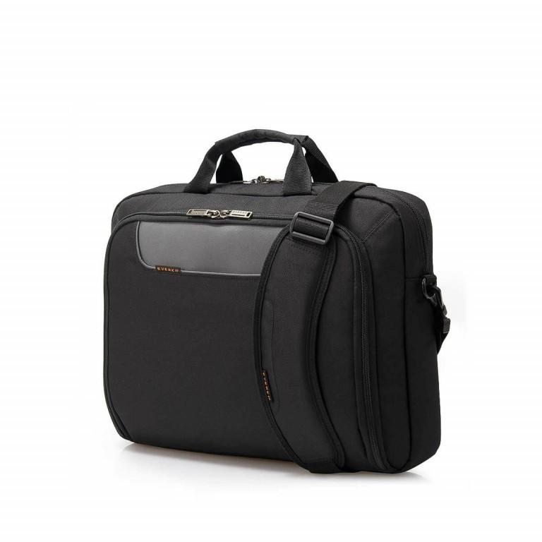 """Everki Laptoptasche Advance 16"""" Schwarz, Farbe: schwarz, Marke: Everki, EAN: 0874933001164, Abmessungen in cm: 41.0x32.5x11.0, Bild 2 von 5"""