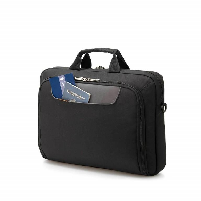 """Everki Laptoptasche Advance 16"""" Schwarz, Farbe: schwarz, Marke: Everki, EAN: 0874933001164, Abmessungen in cm: 41.0x32.5x11.0, Bild 4 von 5"""