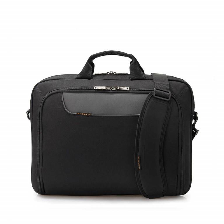 """Everki Laptoptasche Advance 17,3"""" Schwarz, Farbe: schwarz, Marke: Everki, EAN: 0874933001980, Abmessungen in cm: 44.0x33.0x11.0, Bild 1 von 5"""