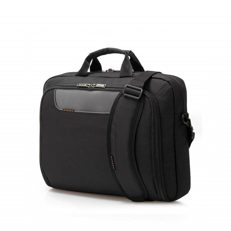 """Everki Laptoptasche Advance 17,3"""" Schwarz, Farbe: schwarz, Marke: Everki, EAN: 0874933001980, Abmessungen in cm: 44.0x33.0x11.0, Bild 2 von 5"""