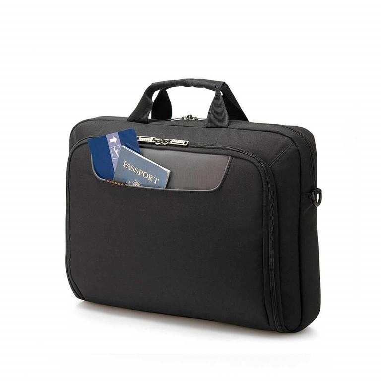 """Everki Laptoptasche Advance 17,3"""" Schwarz, Farbe: schwarz, Marke: Everki, EAN: 0874933001980, Abmessungen in cm: 44.0x33.0x11.0, Bild 4 von 5"""
