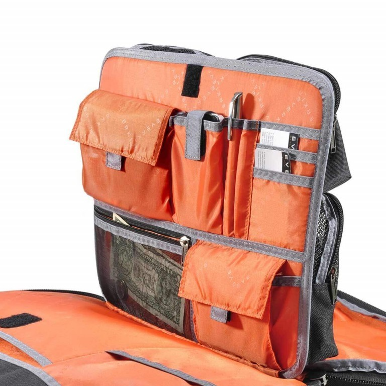 Everki Laptoptasche Versa Schwarz, Farbe: schwarz, Marke: Everki, EAN: 0874933002147, Abmessungen in cm: 46.0x34.0x15.0, Bild 5 von 7