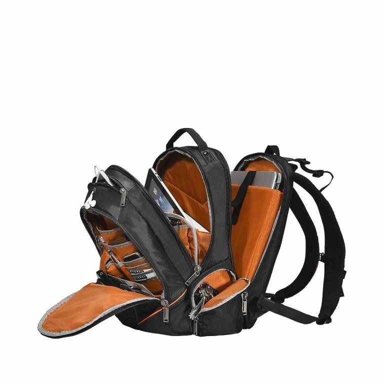 Everki Laptop-Rucksack Flight Schwarz, Farbe: schwarz, Marke: Everki, EAN: 0874933002055, Abmessungen in cm: 33.0x45.0x24.0, Bild 5 von 6