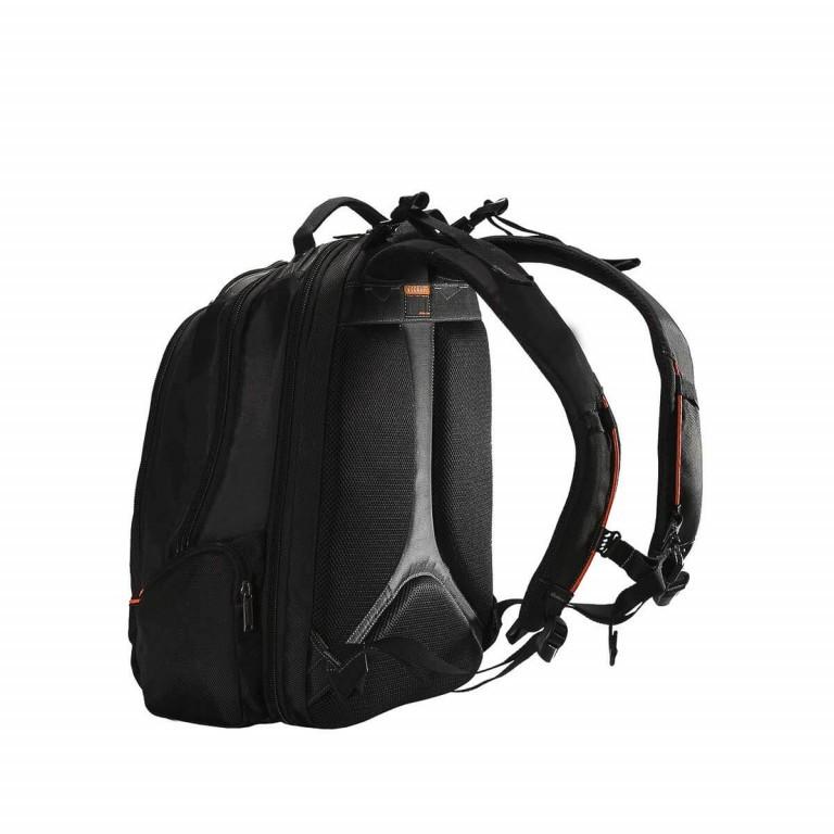 Everki Laptop-Rucksack Flight Schwarz, Farbe: schwarz, Marke: Everki, EAN: 0874933002055, Abmessungen in cm: 33.0x45.0x24.0, Bild 2 von 6