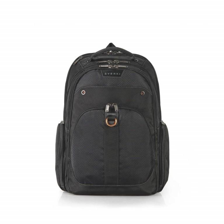 Everki Laptop-Rucksack Atlas Schwarz, Farbe: schwarz, Marke: Everki, EAN: 0874933002246, Abmessungen in cm: 34.0x47.8x23.0, Bild 1 von 5