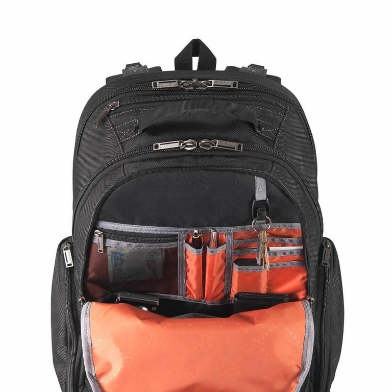 Everki Laptop-Rucksack Atlas Schwarz, Farbe: schwarz, Marke: Everki, EAN: 0874933002246, Abmessungen in cm: 34.0x47.8x23.0, Bild 4 von 5