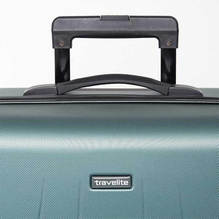 Travelite Extra 4-Rad Trolley 63cm Aqua, Farbe: blau/petrol, Marke: Travelite, Abmessungen in cm: 43.0x63.0x24.0, Bild 4 von 7