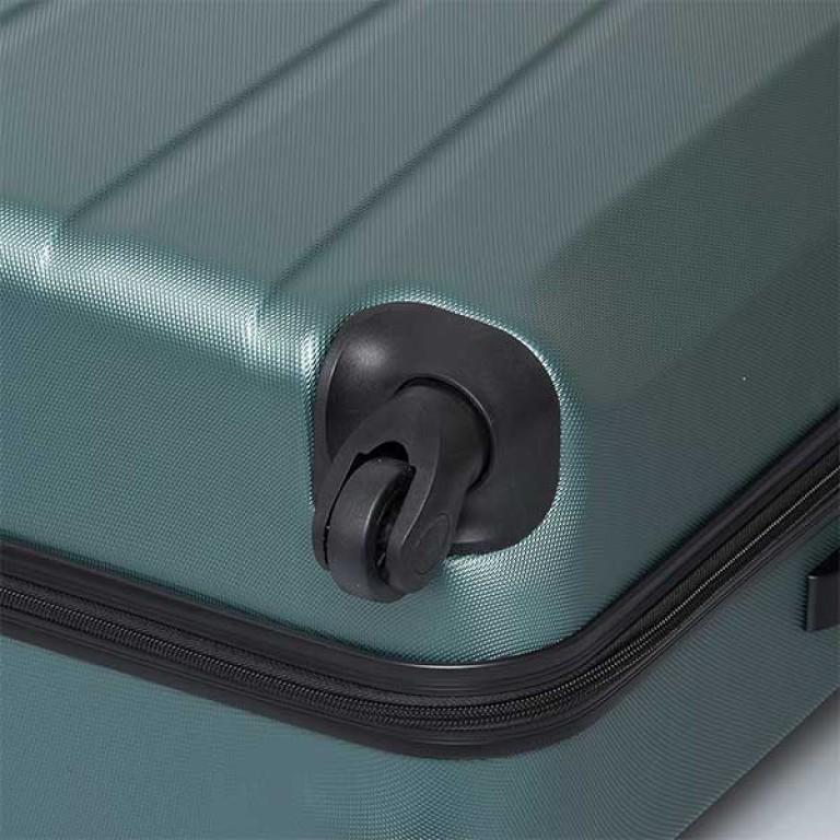 Travelite Extra 4-Rad Trolley 63cm Aqua, Farbe: blau/petrol, Marke: Travelite, Abmessungen in cm: 43.0x63.0x24.0, Bild 6 von 7