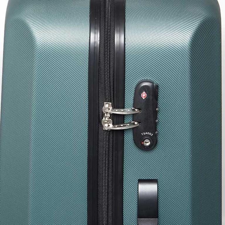 Travelite Extra 4-Rad Trolley 63cm Aqua, Farbe: blau/petrol, Marke: Travelite, Abmessungen in cm: 43.0x63.0x24.0, Bild 5 von 7
