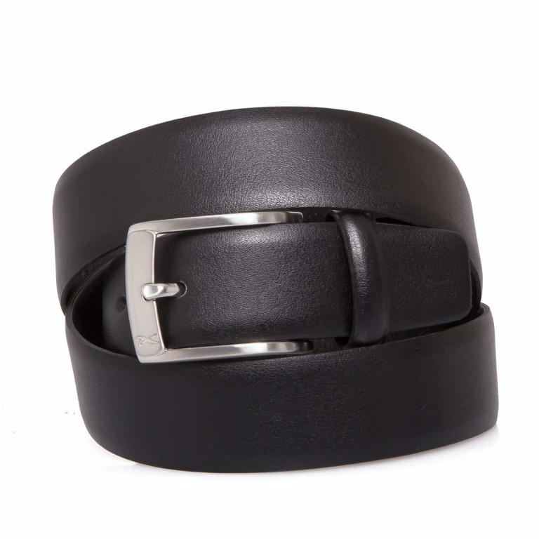 BRAX Gürtel 50-0160 100cm Schwarz, Farbe: schwarz, Marke: Brax, EAN: 4037119339666, Bild 1 von 1
