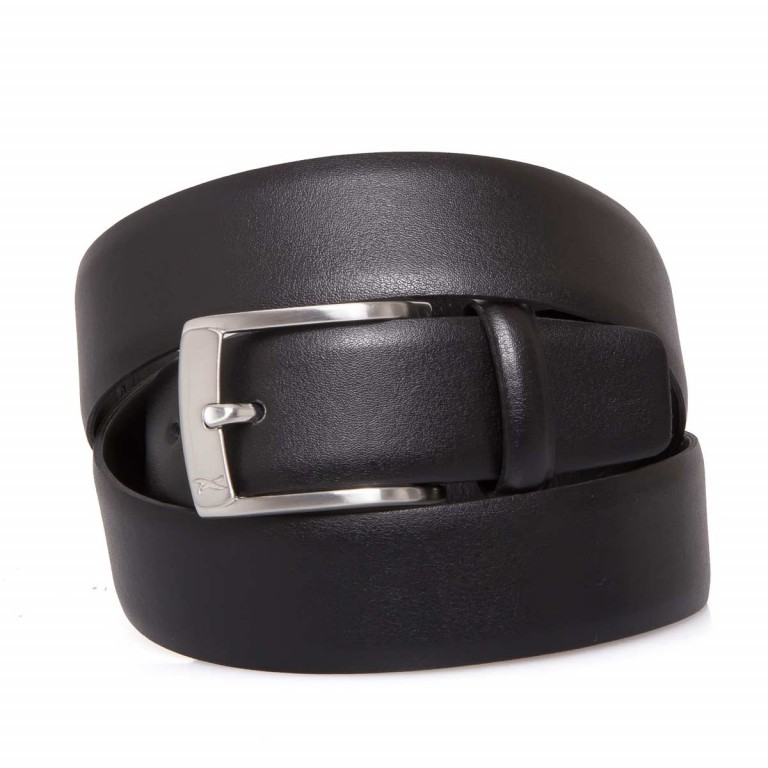 BRAX Gürtel 50-0160 110cm Schwarz, Farbe: schwarz, Marke: Brax, EAN: 4037119339680, Bild 1 von 1