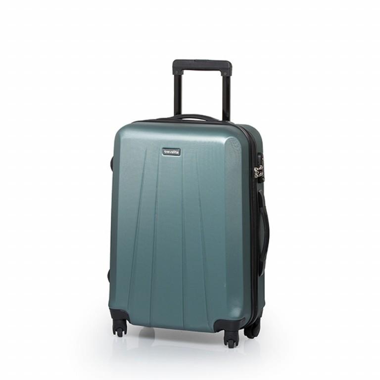 Travelite Extra 4-Rad Trolley 63cm Aqua, Farbe: blau/petrol, Marke: Travelite, Abmessungen in cm: 43.0x63.0x24.0, Bild 1 von 7