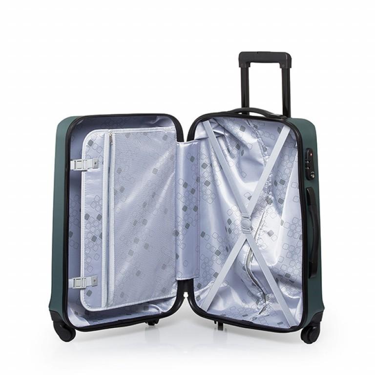 Travelite Extra 4-Rad Trolley 63cm Aqua, Farbe: blau/petrol, Marke: Travelite, Abmessungen in cm: 43.0x63.0x24.0, Bild 2 von 7