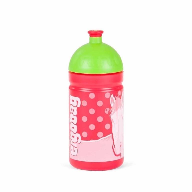 Ergobag Trinkflasche GaloppBär, Farbe: grün/oliv, Marke: Ergobag, EAN: 4260389767505, Abmessungen in cm: 7.5x19.0, Bild 1 von 2