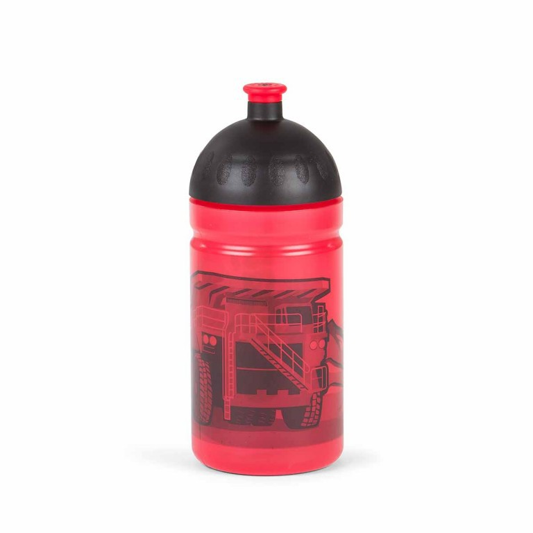 Ergobag Trinkflasche BaggerfahrBär, Farbe: rot/weinrot, Manufacturer: Ergobag, EAN: 4260389767543, Dimensions (cm): 7.5x19.0, Image 2 of 2