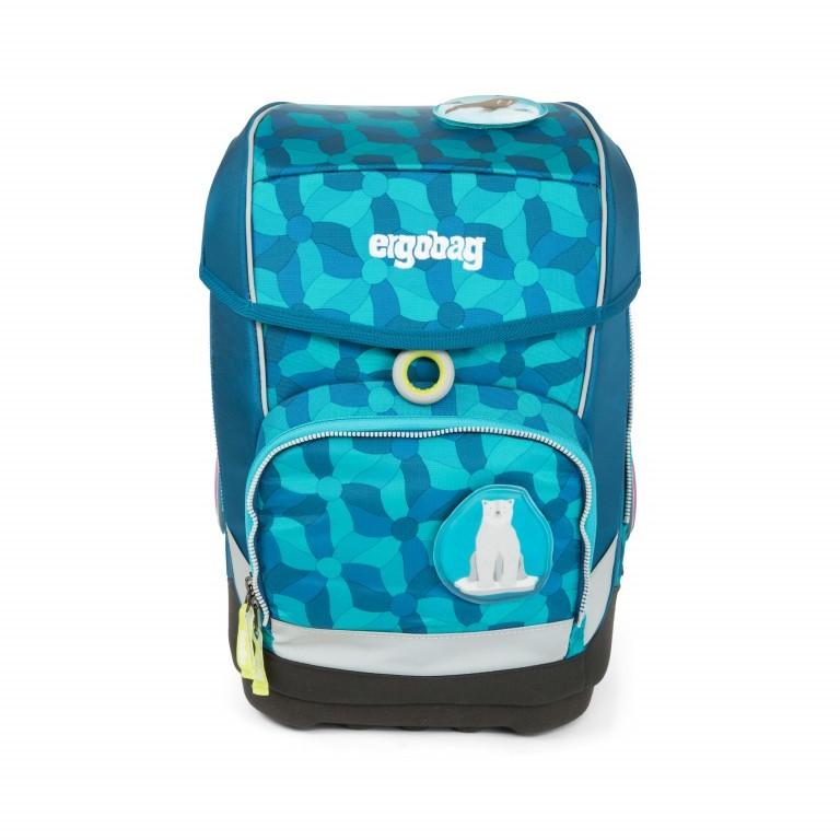 Ergobag Cubo Set 5-teilig EiszauBär, Farbe: blau/petrol, Marke: Ergobag, EAN: 4057081010912, Abmessungen in cm: 25.0x40.0x20.0, Bild 1 von 5