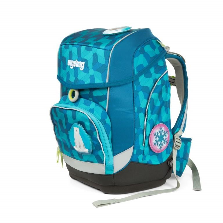 Ergobag Cubo Set 5-teilig EiszauBär, Farbe: blau/petrol, Marke: Ergobag, EAN: 4057081010912, Abmessungen in cm: 25.0x40.0x20.0, Bild 2 von 5