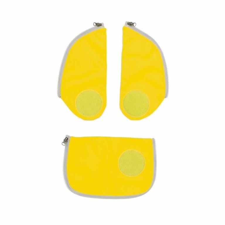 Ergobag Cubo Sicherheitsset Gelb, Farbe: gelb, Marke: Ergobag, EAN: 4057081001385, Bild 1 von 3