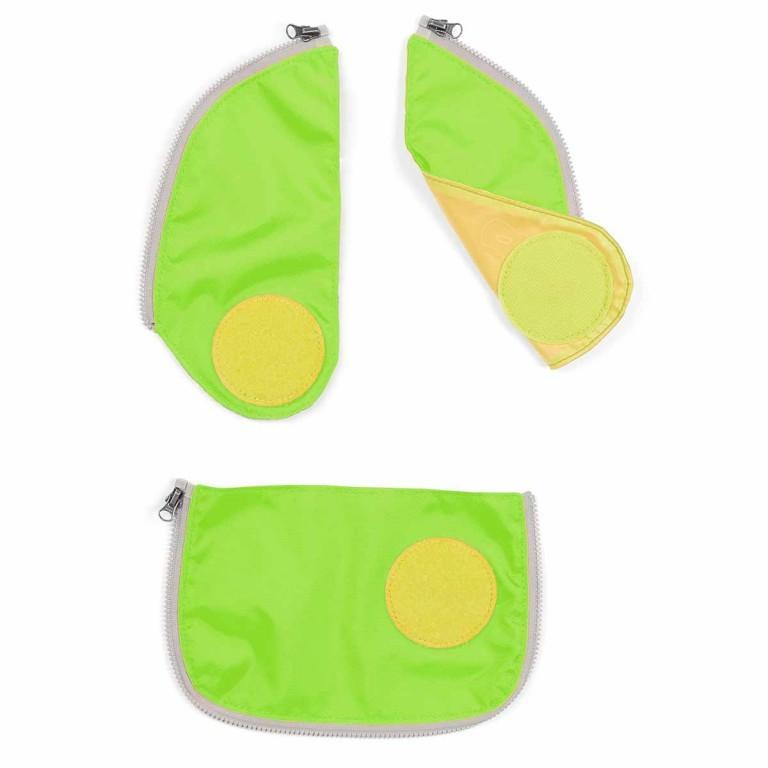 Ergobag Cubo Sicherheitsset Grün, Farbe: grün/oliv, Marke: Ergobag, EAN: 4260389767222, Bild 1 von 1