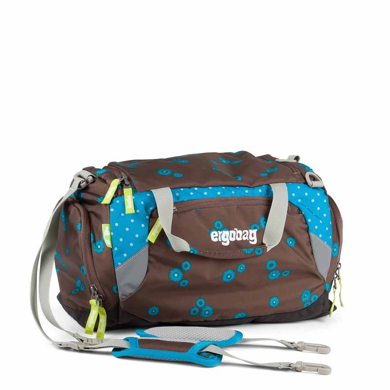 Ergobag Sporttasche SchnurrBär, Farbe: braun, Marke: Ergobag, EAN: 4260389767376, Abmessungen in cm: 40.0x20.0x25.0, Bild 1 von 2