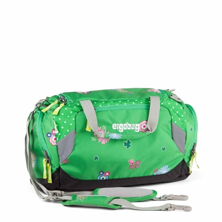 Ergobag Sporttasche PicknickBär, Farbe: grün/oliv, Marke: Ergobag, EAN: 4260389767390, Abmessungen in cm: 40.0x20.0x25.0, Bild 1 von 2