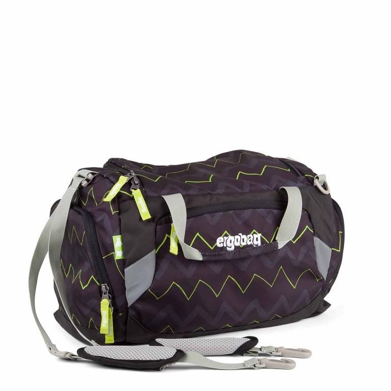 Ergobag Sporttasche Drunter und DrüBär, Farbe: schwarz, Marke: Ergobag, EAN: 4260389767406, Abmessungen in cm: 40.0x20.0x25.0, Bild 1 von 2