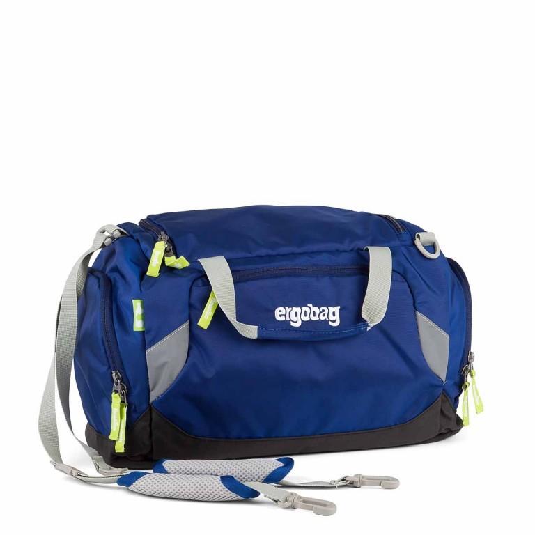 Ergobag Sporttasche SchlauBär, Farbe: blau/petrol, Marke: Ergobag, EAN: 4260389767468, Abmessungen in cm: 40.0x20.0x25.0, Bild 1 von 2