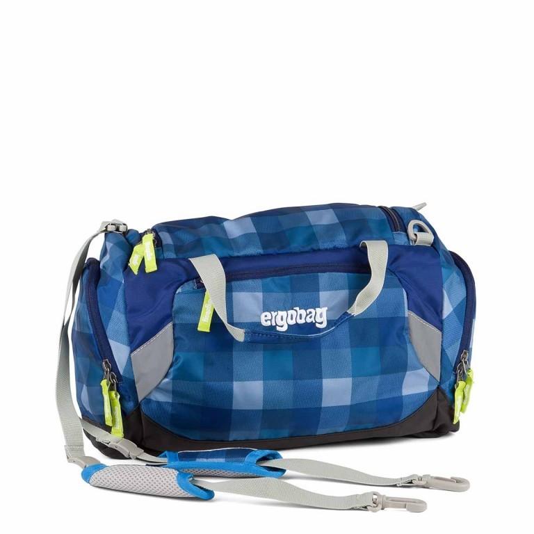 Ergobag Sporttasche KaroalaBär, Farbe: blau/petrol, Marke: Ergobag, EAN: 4260389767437, Abmessungen in cm: 40.0x20.0x25.0, Bild 1 von 2