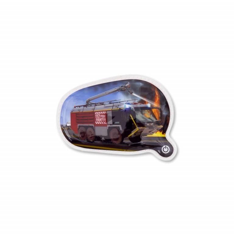 Ergobag LED-Klettie Feuerwehr, Farbe: rot/weinrot, Marke: Ergobag, EAN: 4260389768038, Bild 1 von 1