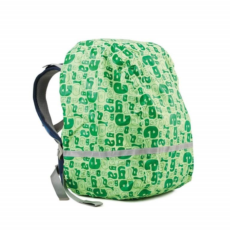 Ergobag Regencape Grün, Farbe: grün/oliv, Marke: Ergobag, EAN: 4260217196460, Abmessungen in cm: 24.0x31.0x5.0, Bild 1 von 2
