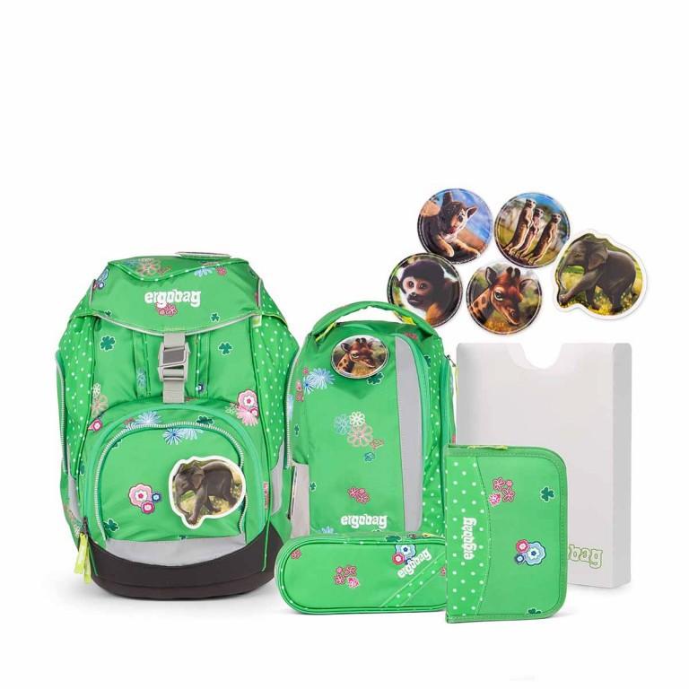 Ergobag Set 6-teilig PicknickBär, Farbe: grün/oliv, Marke: Ergobag, EAN: 4260389766621, Abmessungen in cm: 25.0x35.0x22.0, Bild 1 von 5