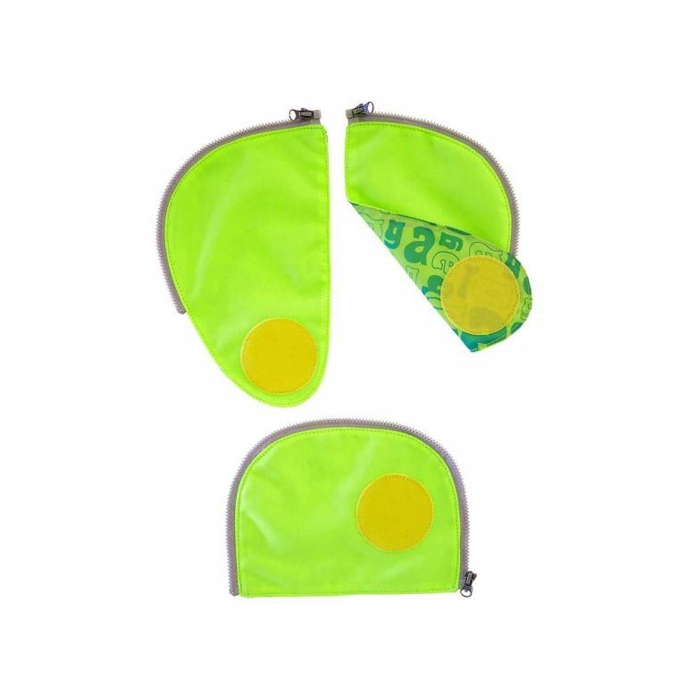 Ergobag Sicherheitsset Grün, Farbe: grün/oliv, Marke: Ergobag, EAN: 4260217198174, Abmessungen in cm: 24.0x31.0x5.0, Bild 1 von 2