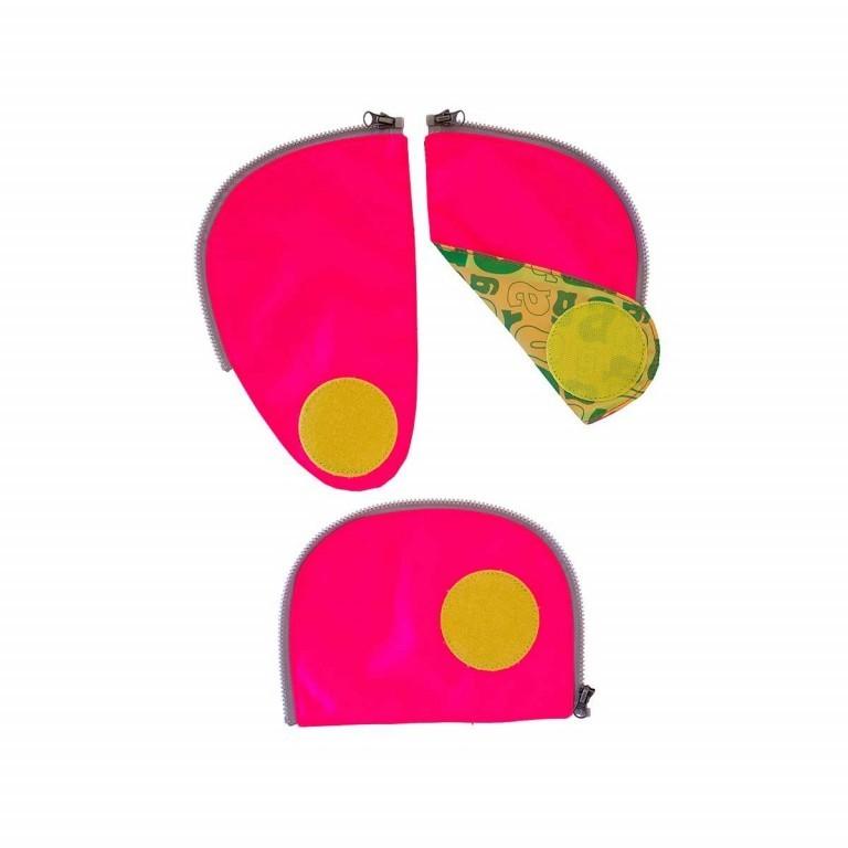 Ergobag Sicherheitsset Pink, Farbe: rosa/pink, Marke: Ergobag, EAN: 4260217198181, Abmessungen in cm: 24.0x31.0x5.0, Bild 1 von 2