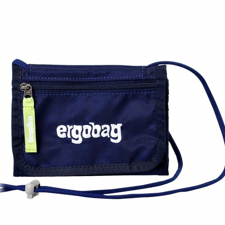 Ergobag Brustbeutel SchlauBär, Farbe: blau/petrol, Marke: Ergobag, EAN: 4260217195876, Abmessungen in cm: 10.5x7.0x1.0, Bild 1 von 1