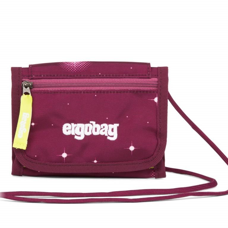Ergobag Brustbeutel FeenzauBär, Farbe: rot/weinrot, Marke: Ergobag, EAN: 4057081011513, Abmessungen in cm: 10.5x7.0x1.0, Bild 1 von 1