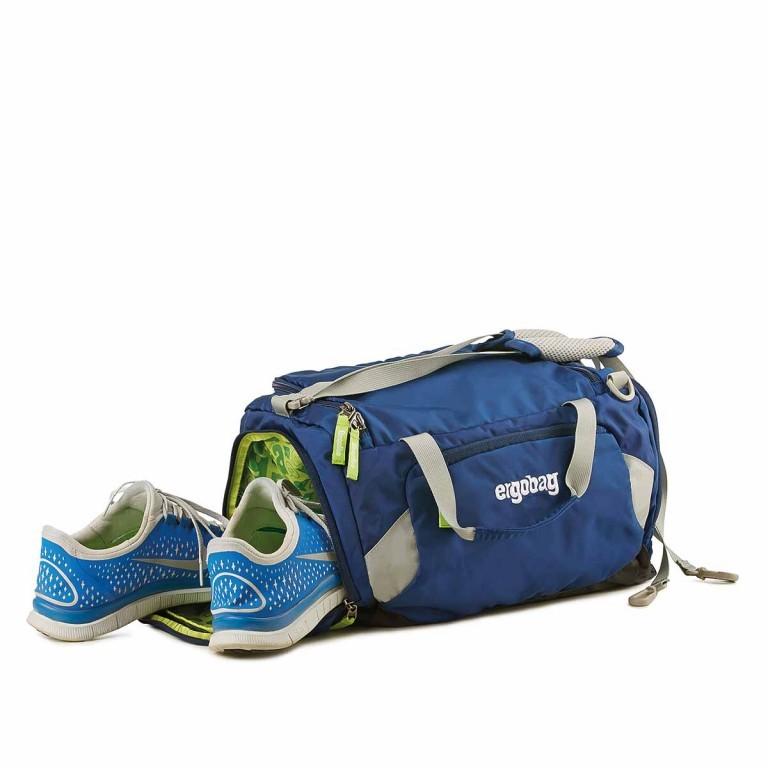 Ergobag Sporttasche BaggerfahrBär, Farbe: rot/weinrot, Marke: Ergobag, EAN: 4260389767420, Abmessungen in cm: 40.0x20.0x25.0, Bild 2 von 2