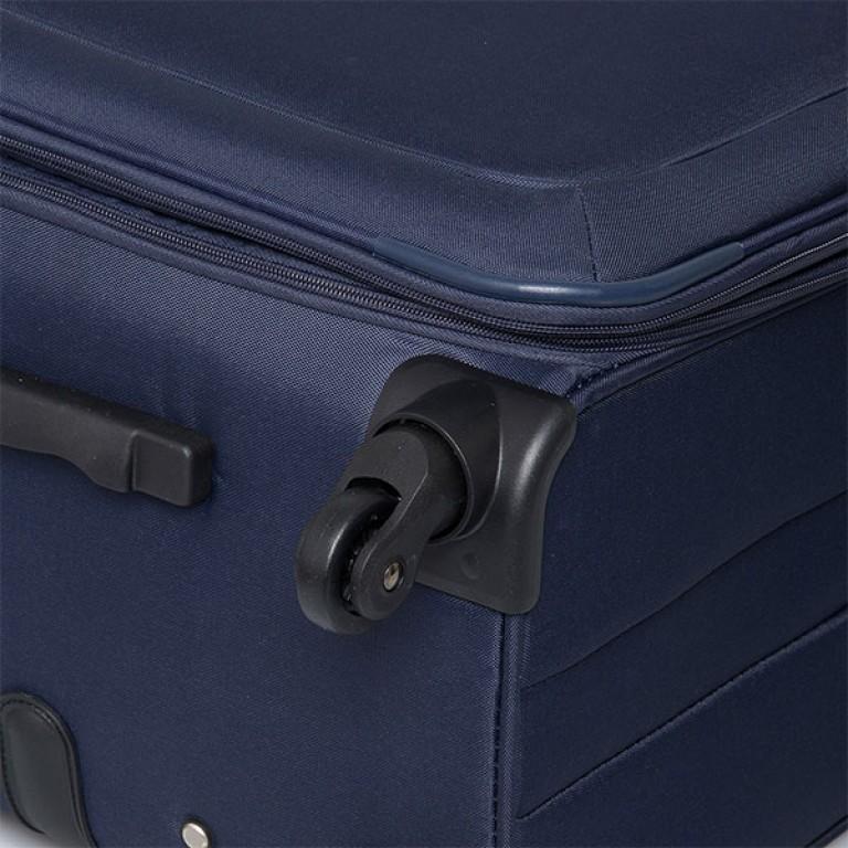 Travelite Flair 4-Rad Trolley 65cm Marine, Farbe: blau/petrol, Marke: Travelite, Abmessungen in cm: 40.0x65.0x28.0, Bild 3 von 6