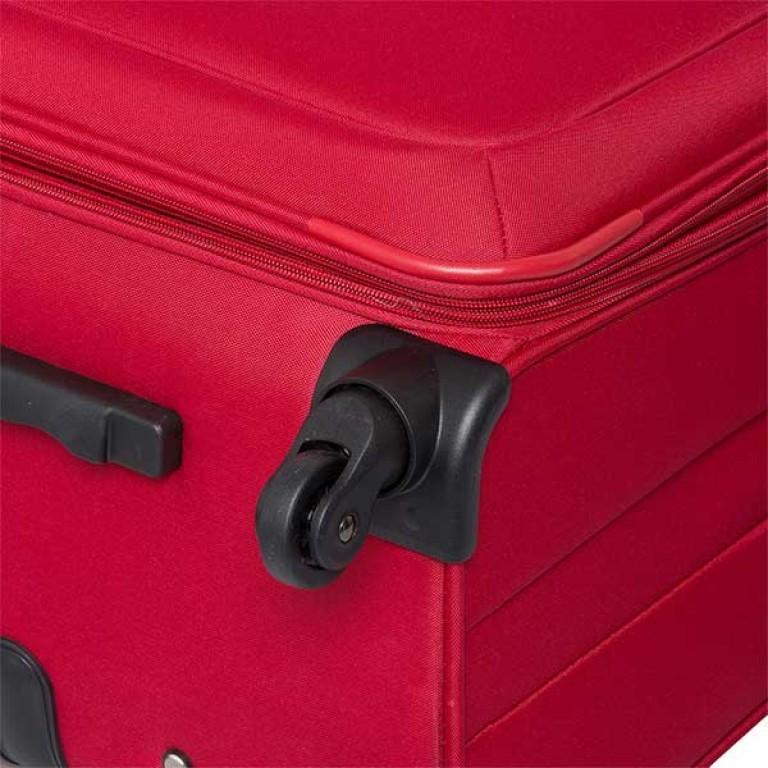 Travelite Flair 4-Rad Trolley 77cm Rot, Farbe: rot/weinrot, Marke: Travelite, Abmessungen in cm: 42.0x77.0x34.0, Bild 3 von 6