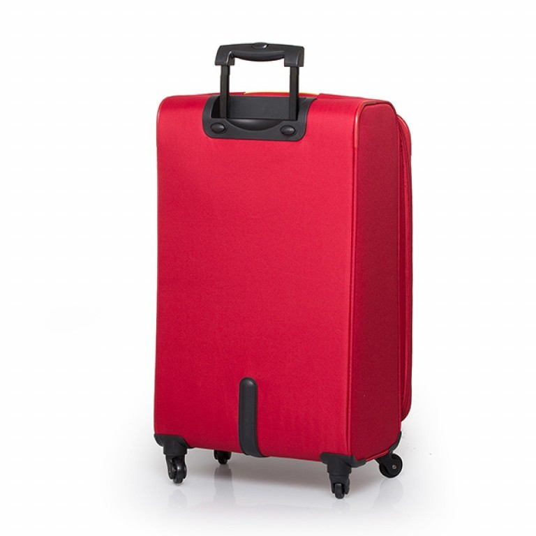 Travelite Flair 4-Rad Trolley 77cm Rot, Farbe: rot/weinrot, Manufacturer: Travelite, Dimensions (cm): 42.0x77.0x34.0, Image 2 of 6