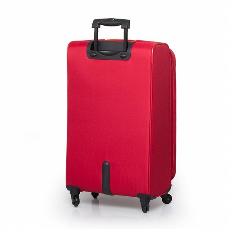 Travelite Flair 4-Rad Trolley 77cm Rot, Farbe: rot/weinrot, Marke: Travelite, Abmessungen in cm: 42.0x77.0x34.0, Bild 2 von 6