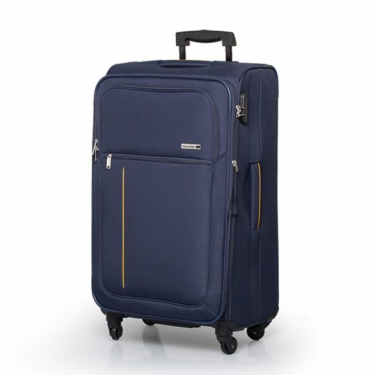Travelite Flair 4-Rad Trolley 77cm Marine, Farbe: blau/petrol, Marke: Travelite, Abmessungen in cm: 42.0x77.0x34.0, Bild 1 von 6