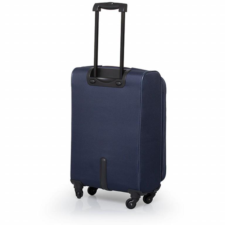 Travelite Flair 4-Rad Trolley 65cm Marine, Farbe: blau/petrol, Marke: Travelite, Abmessungen in cm: 40.0x65.0x28.0, Bild 2 von 6