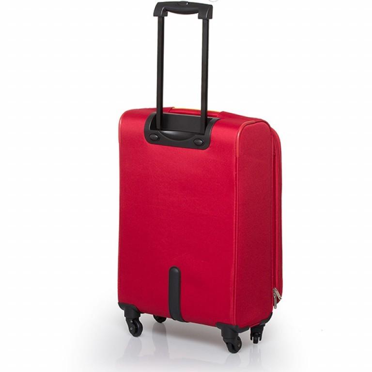 Travelite Flair 4-Rad Trolley 65cm Rot, Farbe: rot/weinrot, Marke: Travelite, Abmessungen in cm: 40.0x65.0x28.0, Bild 2 von 6