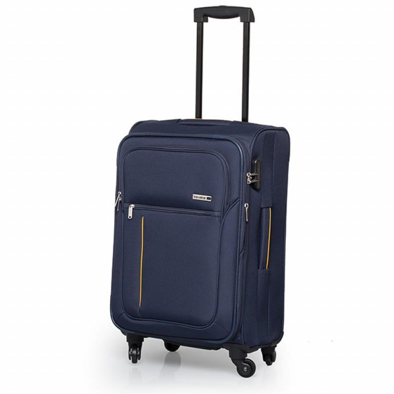 Travelite Flair 4-Rad Trolley 65cm Marine, Farbe: blau/petrol, Marke: Travelite, Abmessungen in cm: 40.0x65.0x28.0, Bild 1 von 6