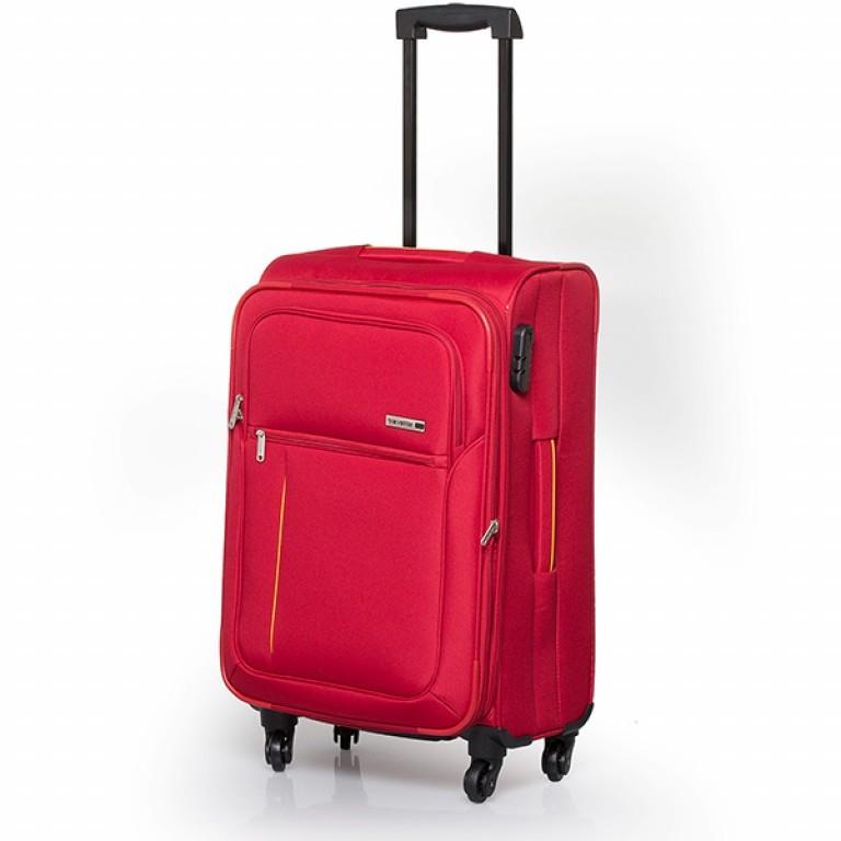 Travelite Flair 4-Rad Trolley 65cm Rot, Farbe: rot/weinrot, Marke: Travelite, Abmessungen in cm: 40.0x65.0x28.0, Bild 1 von 6