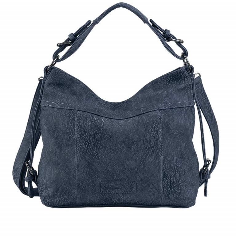 Fritzi aus Preußen Kuba Francesca Beutel Synthetik Blue Jeans, Farbe: blau/petrol, Marke: Fritzi aus Preußen, Abmessungen in cm: 31.0x31.0x10.0, Bild 1 von 2