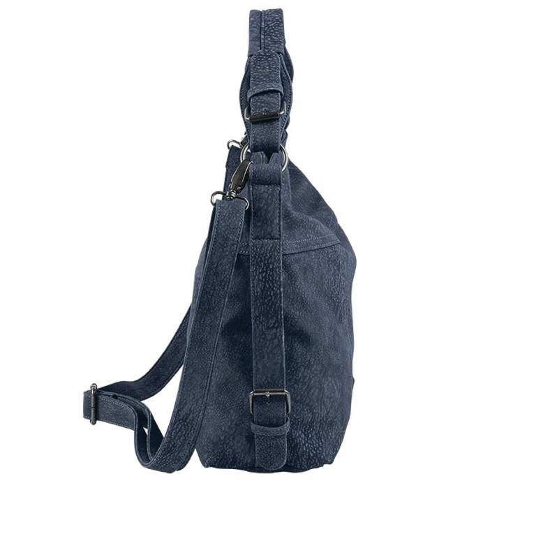 Fritzi aus Preußen Kuba Francesca Beutel Synthetik Blue Jeans, Farbe: blau/petrol, Marke: Fritzi aus Preußen, Abmessungen in cm: 31.0x31.0x10.0, Bild 2 von 2