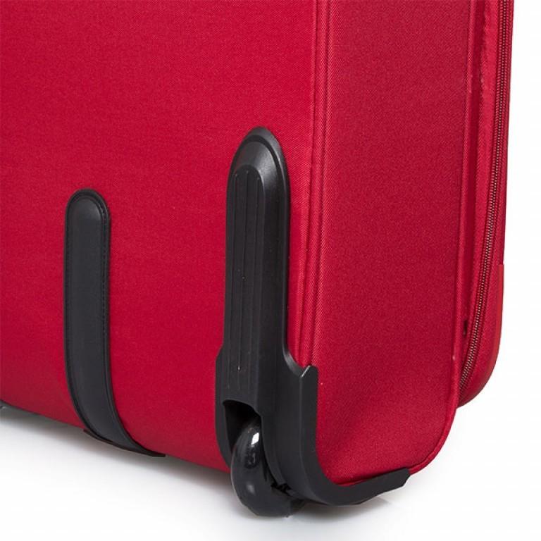 Travelite Flair 2-Rad Trolley 51cm Rot, Farbe: rot/weinrot, Marke: Travelite, Abmessungen in cm: 36.0x51.0x24.0, Bild 3 von 6