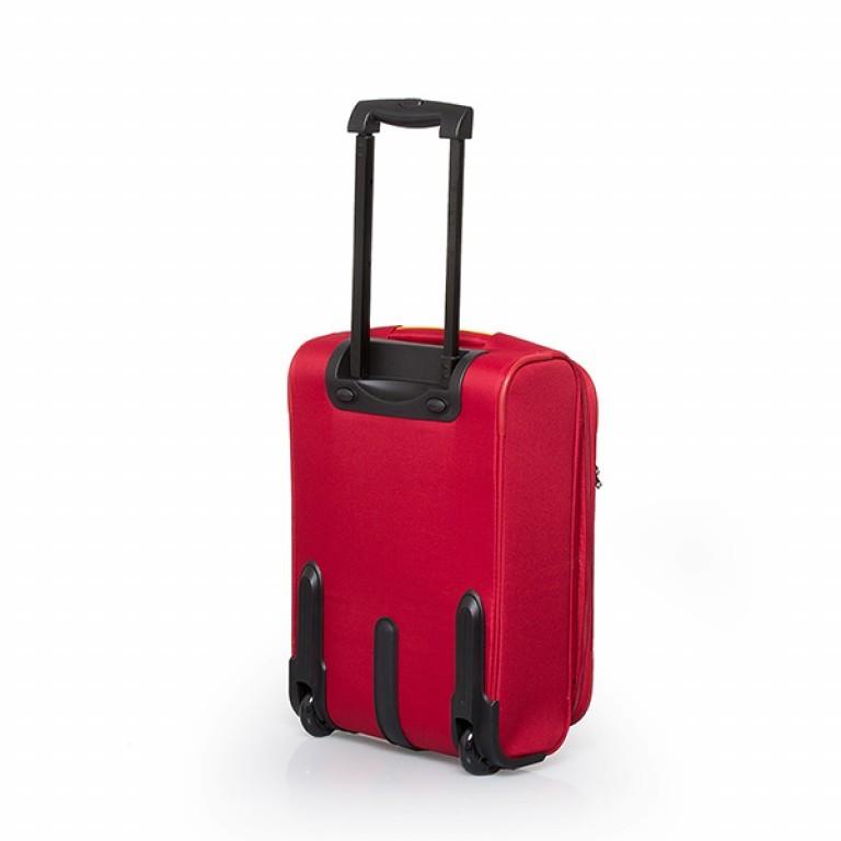 Travelite Flair 2-Rad Trolley 51cm Rot, Farbe: rot/weinrot, Marke: Travelite, Abmessungen in cm: 36.0x51.0x24.0, Bild 2 von 6