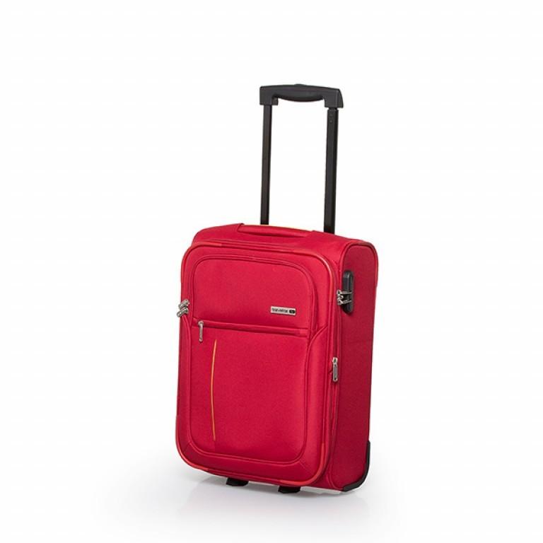 Travelite Flair 2-Rad Trolley 51cm Rot, Farbe: rot/weinrot, Marke: Travelite, Abmessungen in cm: 36.0x51.0x24.0, Bild 1 von 6